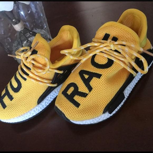 9a4e12f0ffeb7 Kids Replica Pharrell Williams Human Race sneaker.  M 5c9eb064248f7ac1df90a213